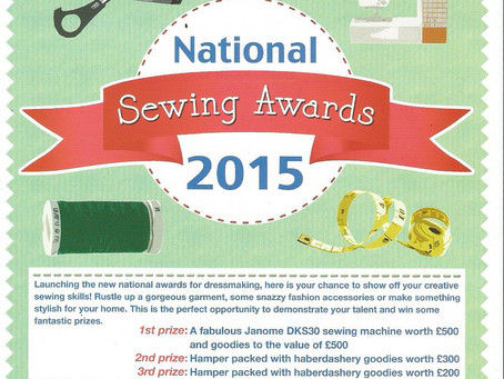 National Sewing Awards 2015