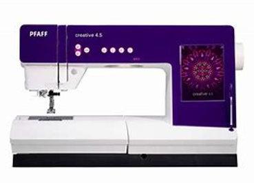 Pfaff Creative 4.5,sewing machine