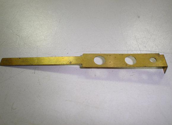 Singer foot control brass upper contact