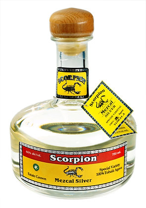 Scorpion Mezcal Silver - Estate Grown Tobala Varietal