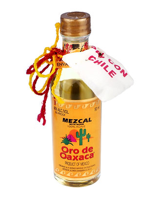 Oro Mezcal Reposado 100% Agave Mini 50ml