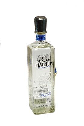 El Tesoro Don Felipe Platinum 40% alc - 750ml