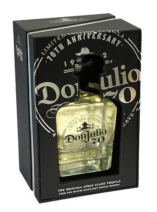 Don Julio 70th Anniversary Limited Edition Anejo Claro 40% alc - 750ml