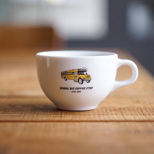 Kyoto 6oz latte cup -White-