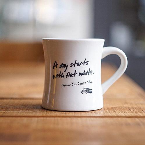 Kitahama mug cup -White-