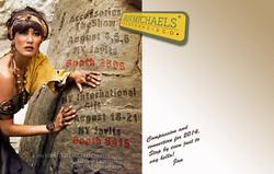 Jan Michaels Jewelry Mailer (back)