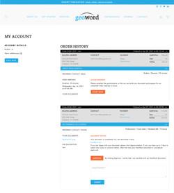 Recruiting Services / Custom Customer Account
