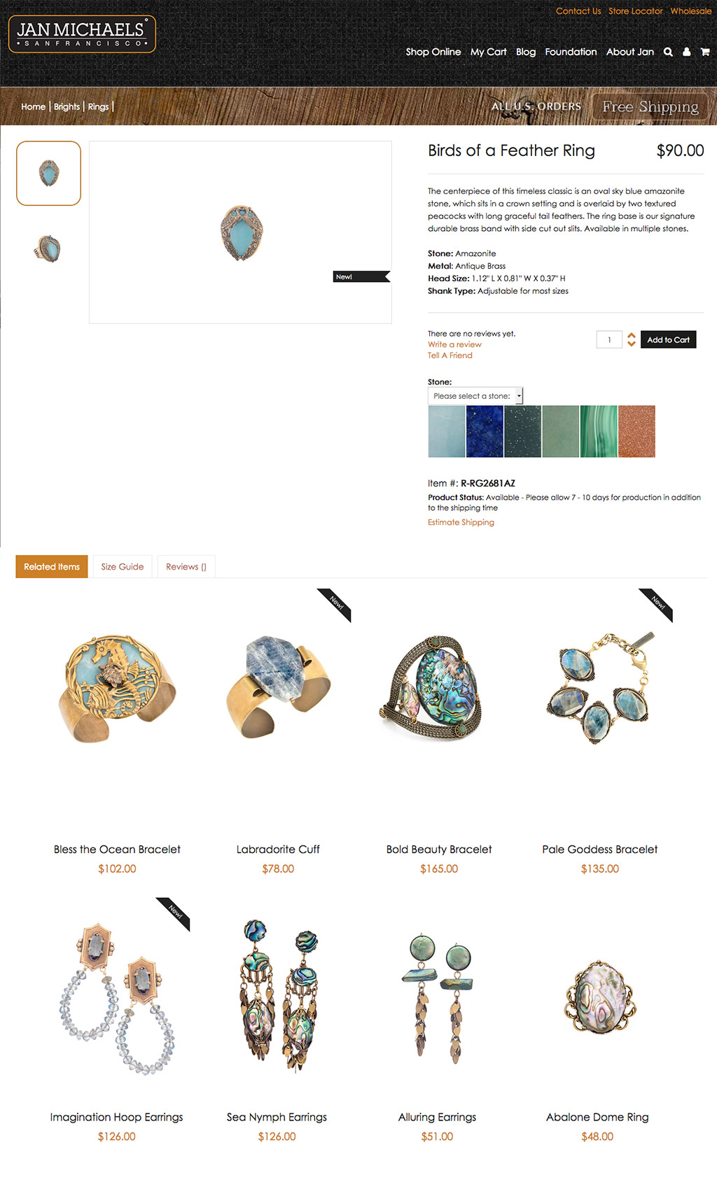 Fashion e-commerce / Content