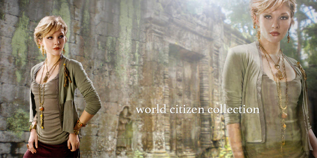 Jan Michaels Jewelry - World Citizen