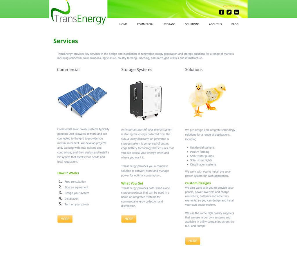 TransEnergy / Content