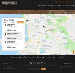 e-commerce / Store Locator