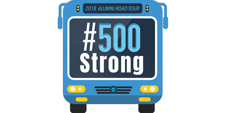 College Track Alumni Tour Logo