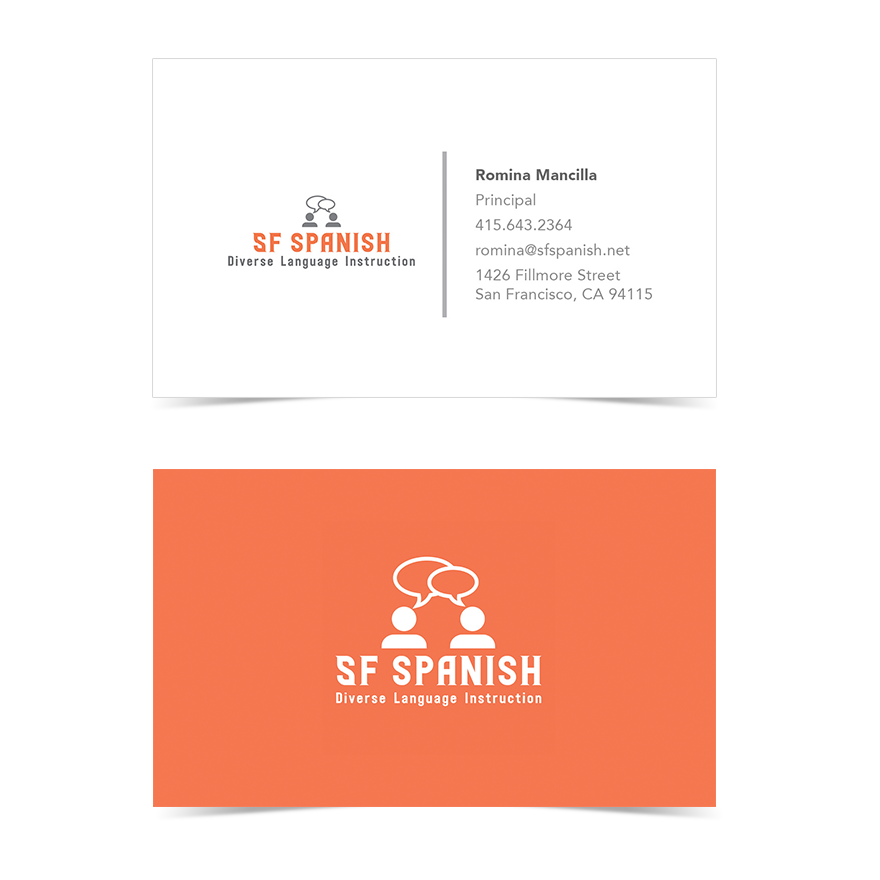 SF Spanish Business Card