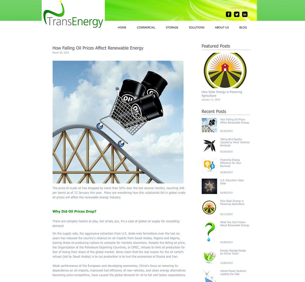 TransEnergy / Blog