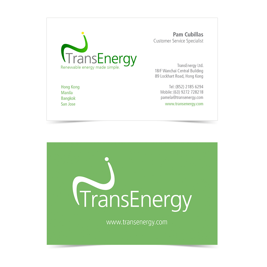 TransEnergy Business Card