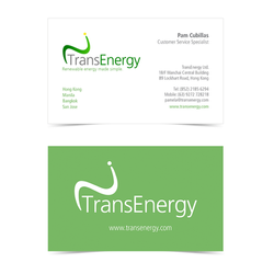 TransEnergy Business Card