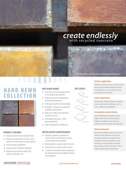 Concrete Newthink - Brochure