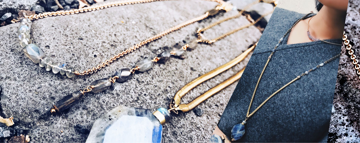 Necklaces/ Spirit Blue - Spring 2018