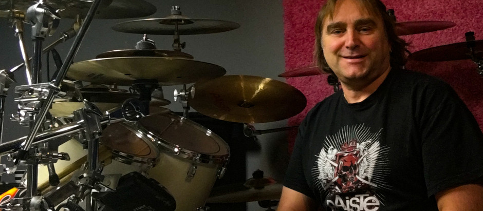 Martin Hedberg - Comments from behind the drum set