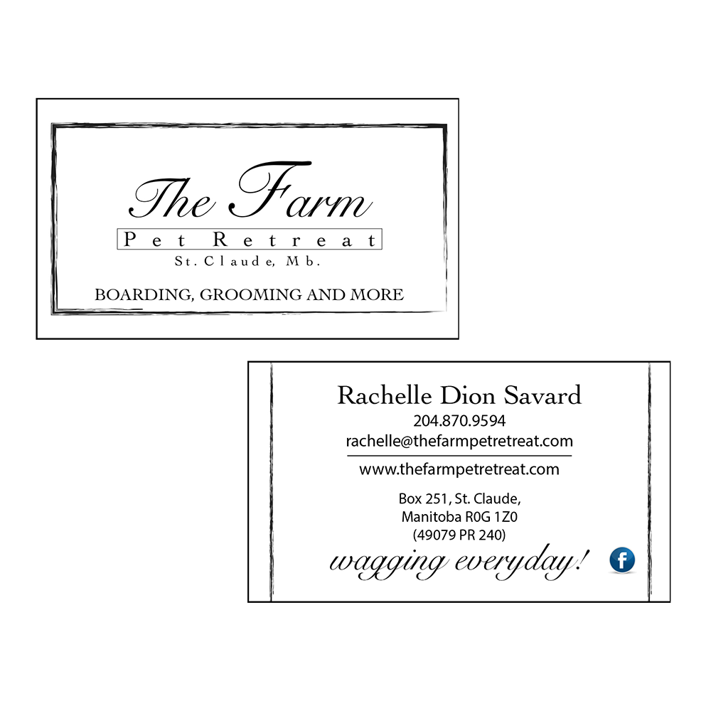 The Farm Business Cards CN Creative