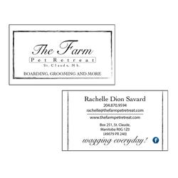 The Farm Business Cards CN Creative