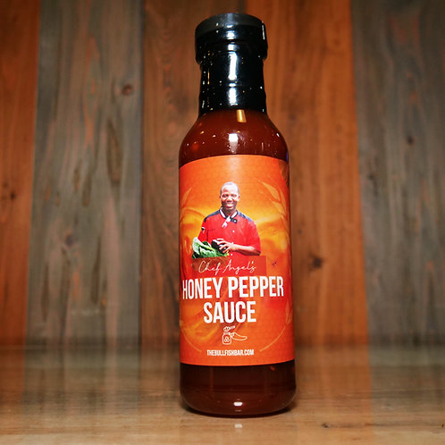 Honey Pepper Sauce 12oz