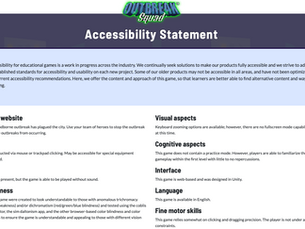 Creating Accessibility Review Statements