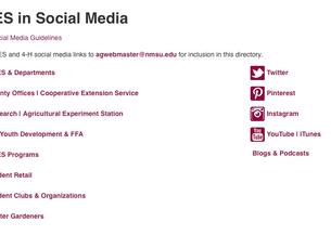ACES in Social Media