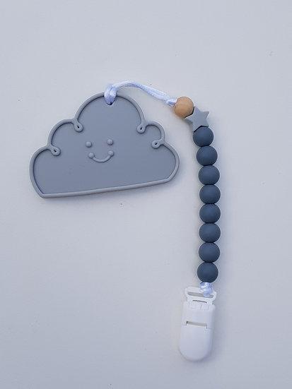 Kit Cuna clip Mini + Mordedor Nuvem