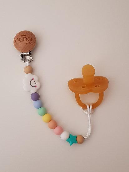Cuna clip Arco-íris Candy Colors