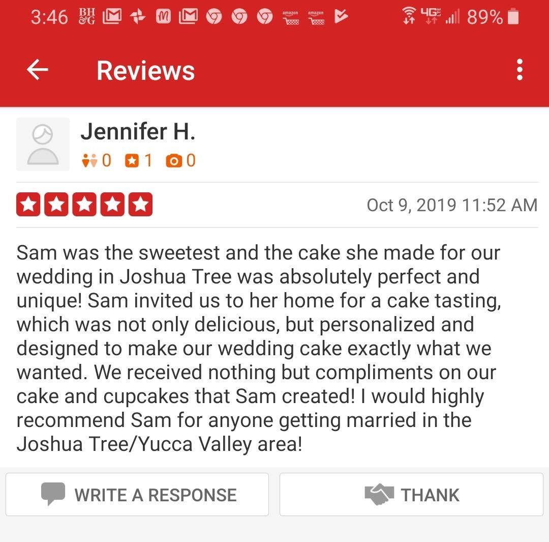 Yelp Review Jennifer H.