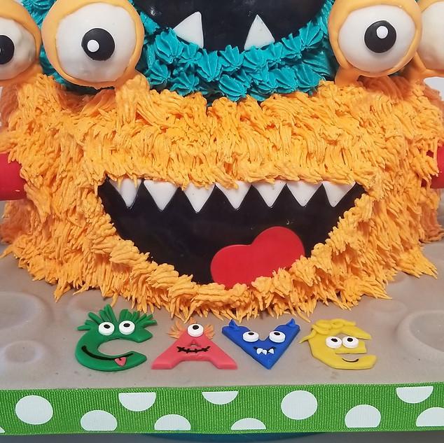 Monster Madness Close-Up