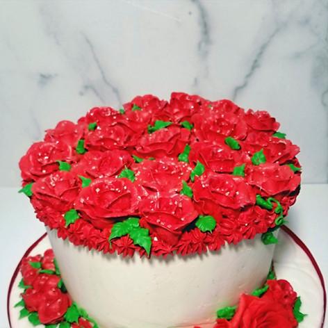 """8"""" Happy 2nd Anniversary Cake"""