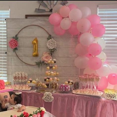 Catalya's First Birthday Scene