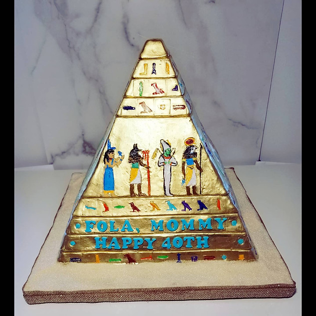 Golden Pyramid for 40th