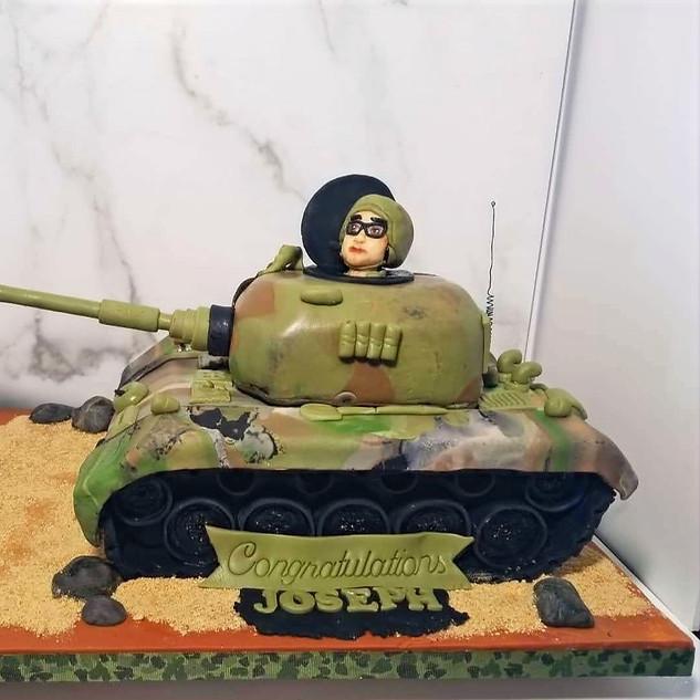 3D Tank for USMC Graduation