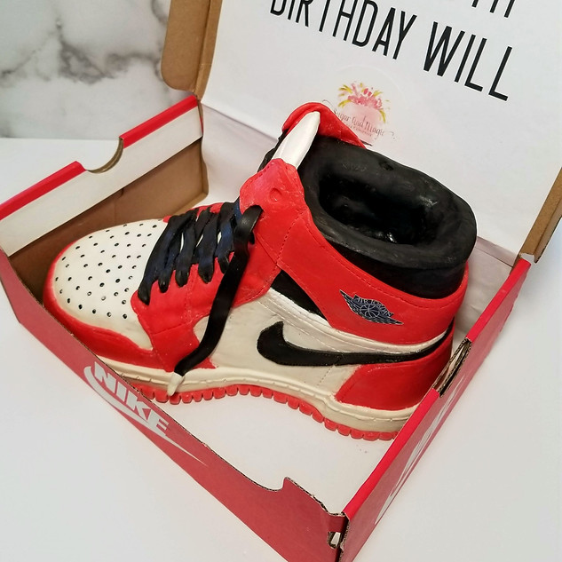 100% Edible Air Jordan Shoe