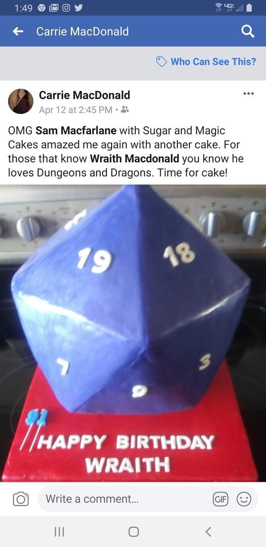 Facebook-Dice Cake