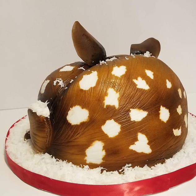 Adorable Baby Fawn Cake