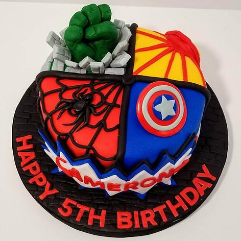Avengers Extravaganza Cake!