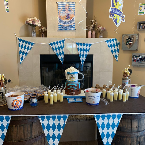 October Fest Beer Stein Cake in all its Glory!