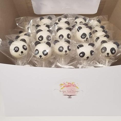 Peek-a-Boo Panda Cake Pops