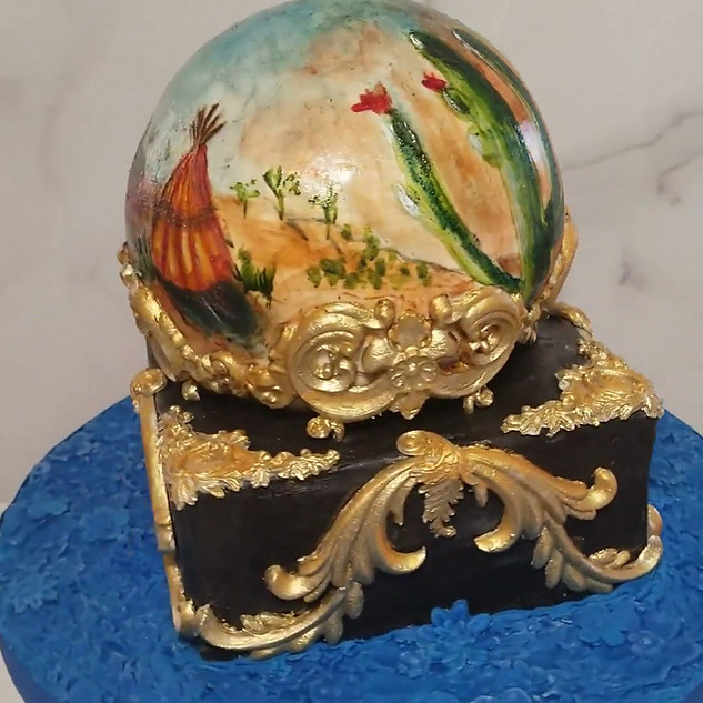 Crystal Ball Vision Cake