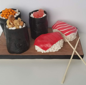 What! Sushi Cakes!!!
