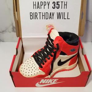 Air Jordan Shoe Cake
