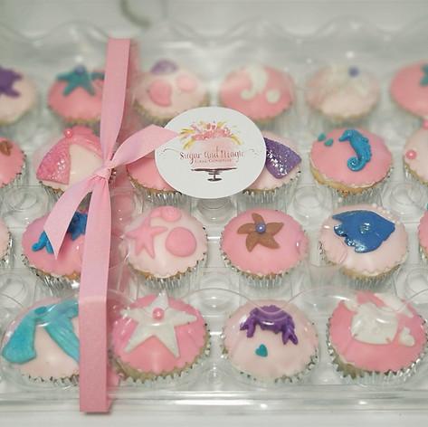 Mermaid Fantasy Cupcakes
