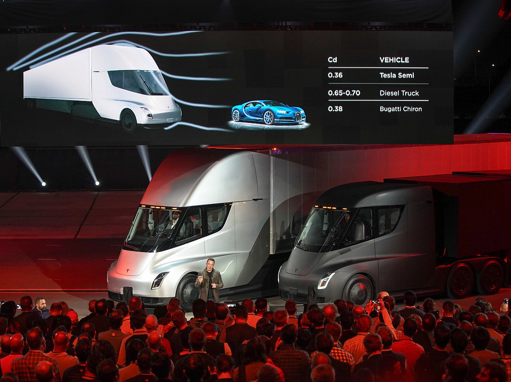 "Trucking and freight company J.B. Hunt has already announced that it had placed a reservation to buy ""multiple Tesla Semi tractors."""
