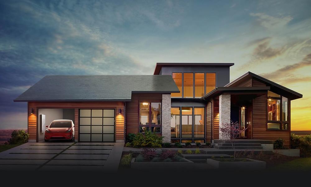 Picture curtesy of Tesla Solar