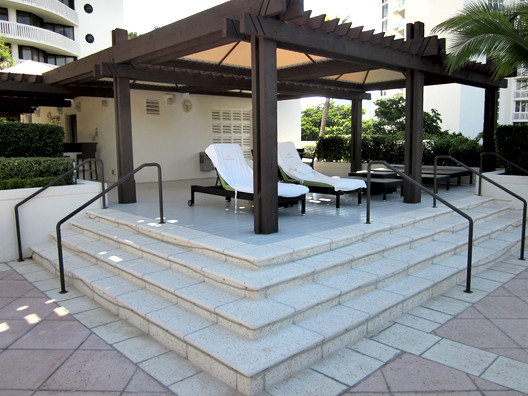 Williams Island Exterior Gazebo Remodel Miami Florida