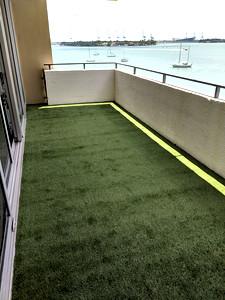 Balcony Floor Renovation Belle Isle South Beach Miami Florida
